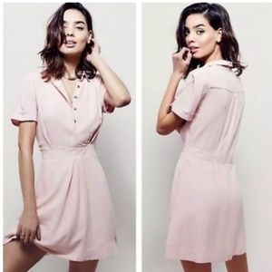 NWT Free People powder pink dress